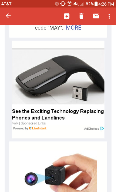 Mice are replacing landlines. Such future. Very tech. Wow.